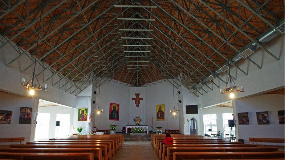 Kościół pod wezwaniem świętego Maksymiliana Marii Kolbego w Darłówku