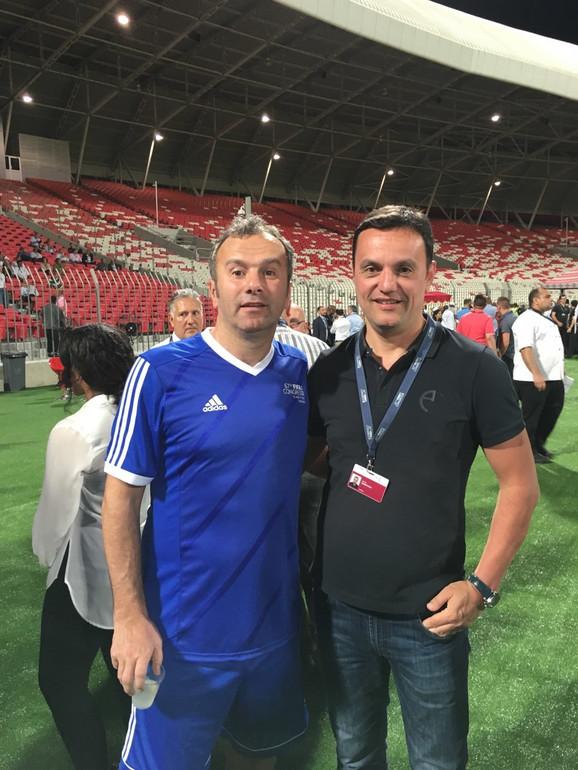 Dejo Savićević i Jovan Šurbatović