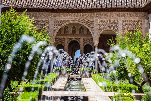 Ogrody Alhambry