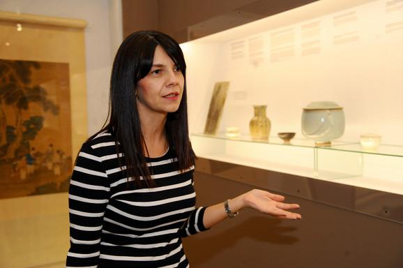 Evgenija Blanuša, koordinatorka izložbe