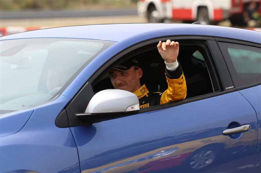 Robert Kubica dla portalu F1.com o swoim prywatnym życiu