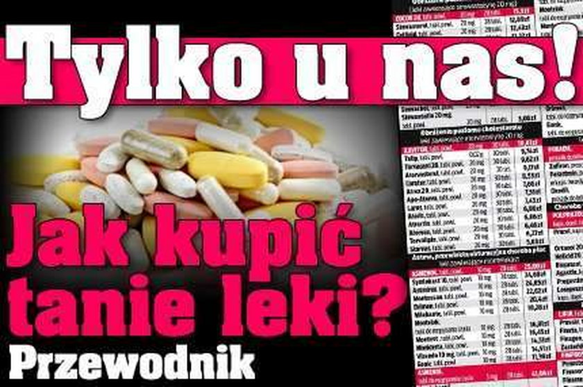 Tylko u nas! Jak kupić tanie leki? Przewodnik