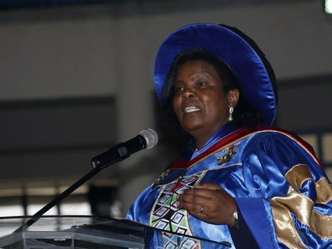 File photo of former KC VC Prof Olive Mugenda.