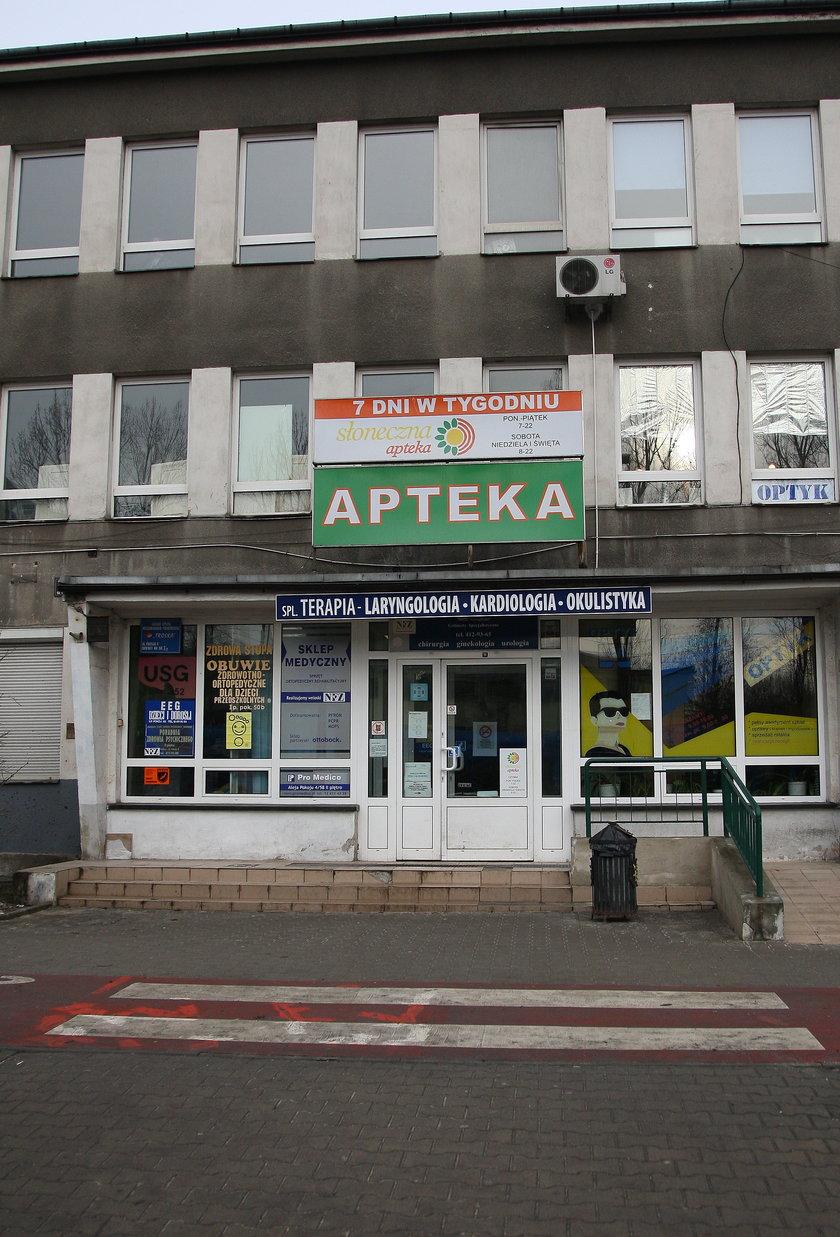 Przychodnia przy al. Pokoju w Krakowie