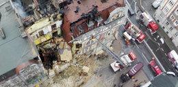 Ogrom zniszczeń po wybuchu kamienicy ZDJĘCIA