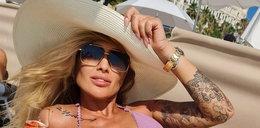 """40-letnia gwiazda """"Królowych życia"""" pokazuje piękne ciało i apeluje: bądźcie sobą!"""