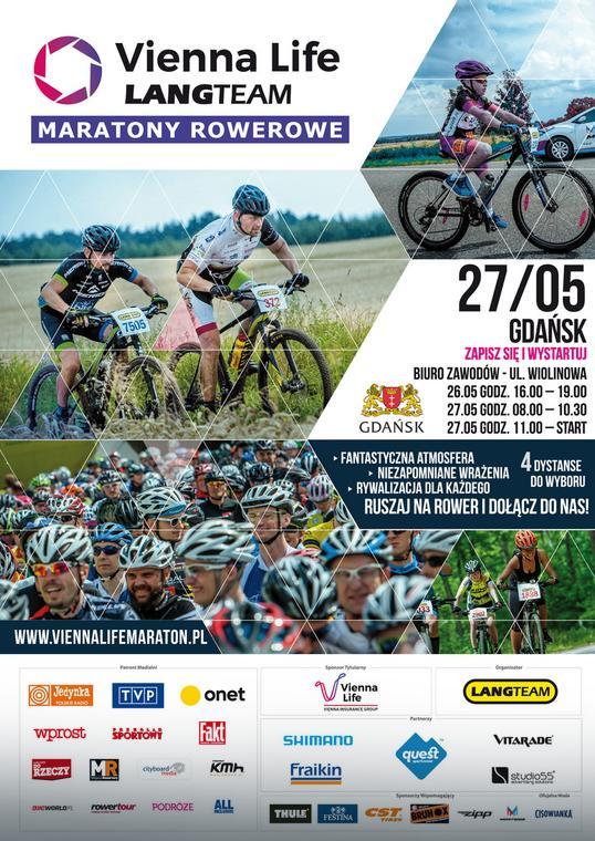 Vienna Life Lang Team Maratony Rowerowe Gdańsk