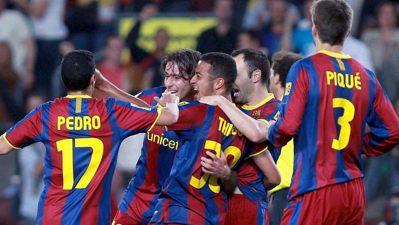 Piłkarze Barcelony strzelili trzy gole