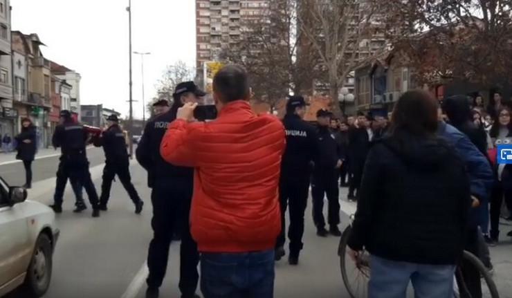 Leskovac protesti