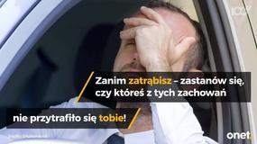 Najbardziej irytujące zachowania kierowców