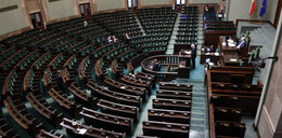 Żenująca scena w Sejmie. Minister przemawiał do pustej sali