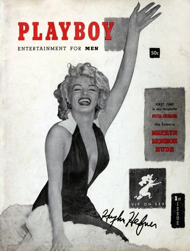 Merilin Monro na naslovnici Plejboja