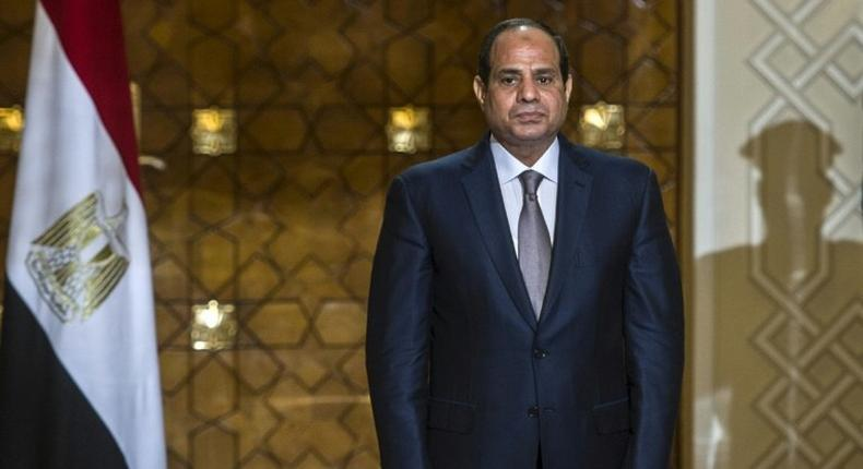 Egyptian President Abdel Fattah al-Sisi called on young activists who took part in mass protests in 2011 to work for the country's future