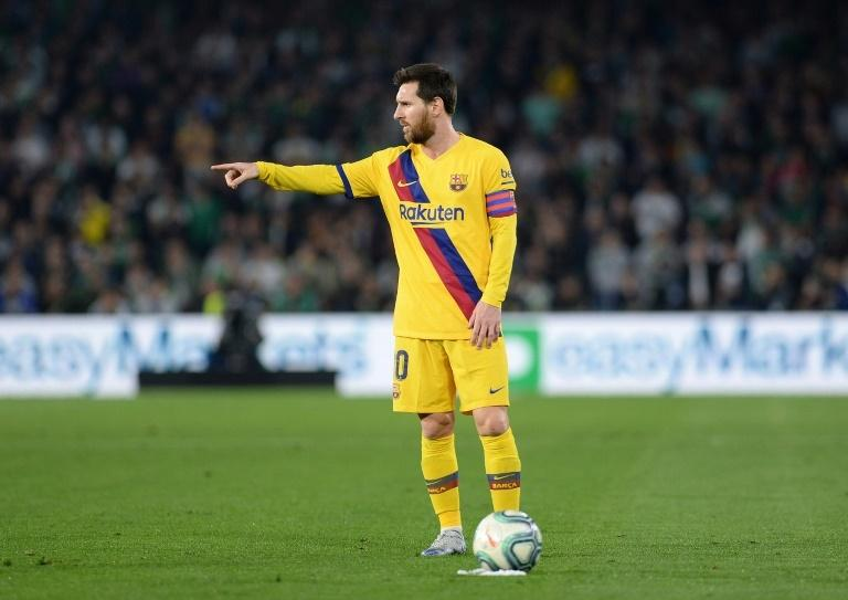 Lionel Messi ran the show for Barcelona away to  Betis