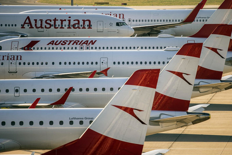 AUA, austrijska aviokompanija