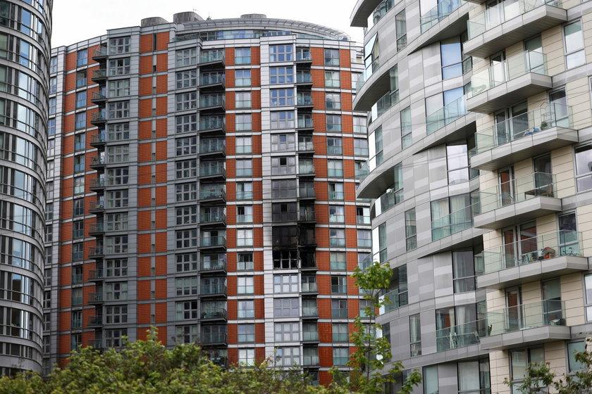 Przerażające ZDJĘCIA z pożaru w Londynie