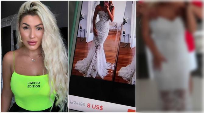 Bosanska Jutjuberka naručila venčanicu preko interneta i doživela šok