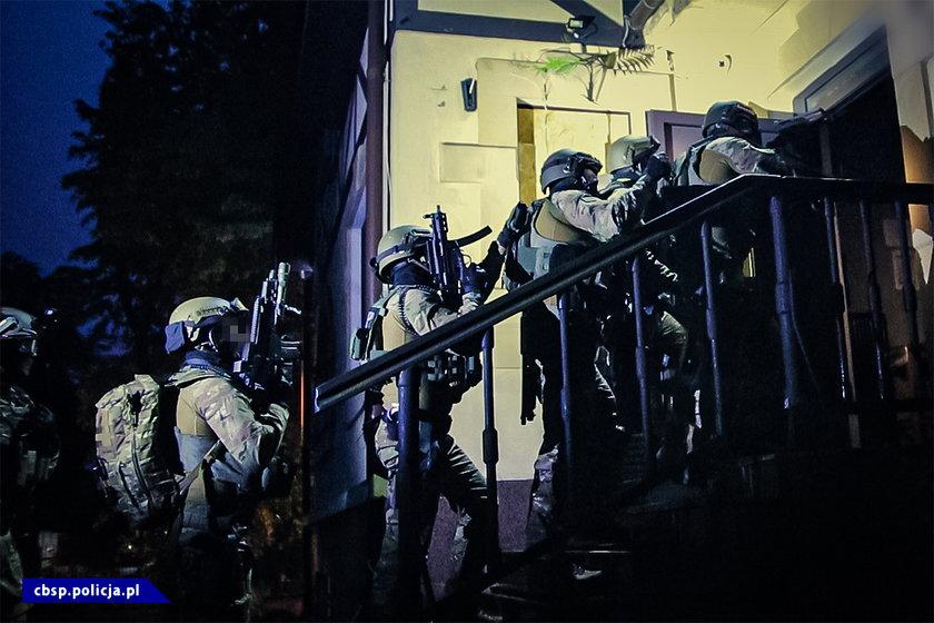 Policyjna akcja w Trójmieście