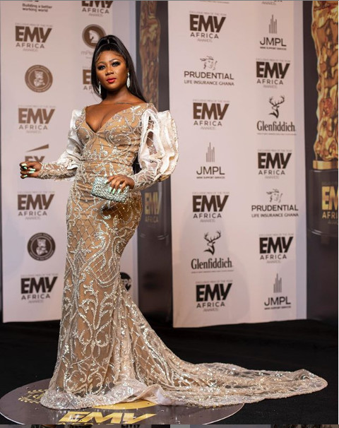 Here are the best-dressed female celebrities we saw at the 2020 EMY Africa Award