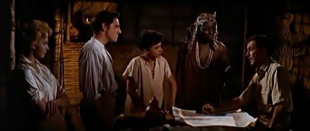 Orlando Martins in  'Killers of Kilimanjaro' (1959) [Twitter @thepaorlando]