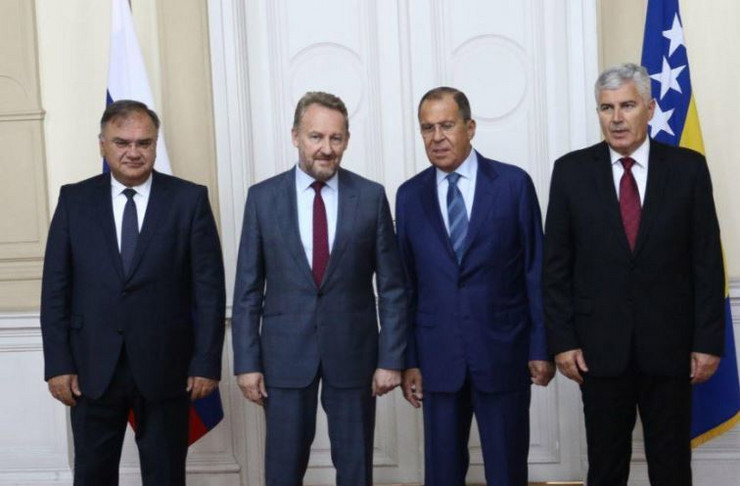 Sergej Lavrov clanovi predsednistva BiH Sarajevo