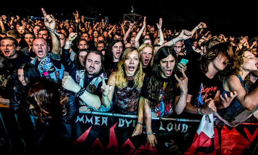 Publiczność festiwalu Summer Dying Loud.