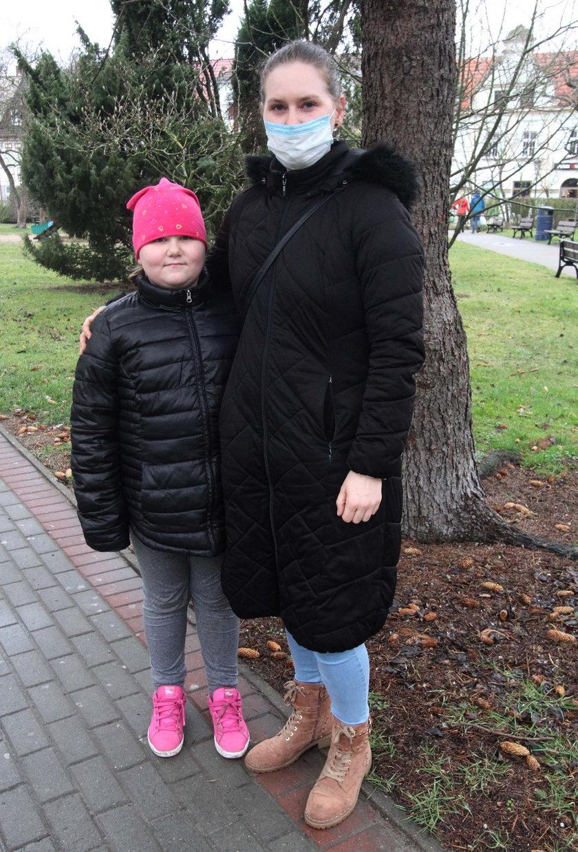 Dominika Siwy (28 l.) z córką Julią (8 l.) z Kołobrzegu