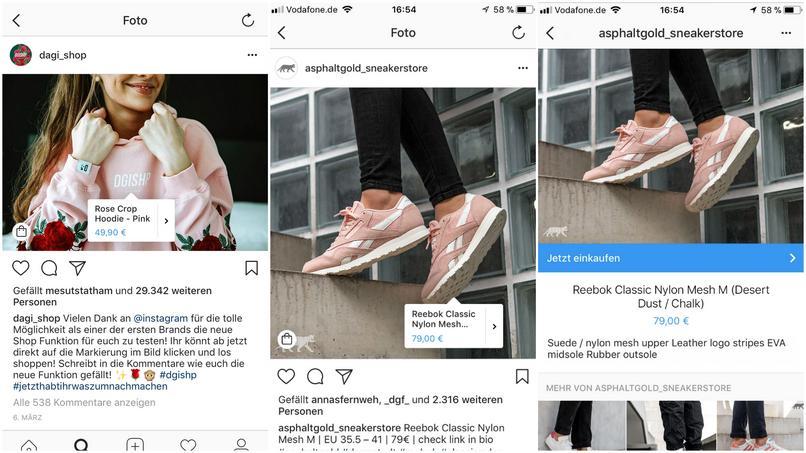 Möbel Shoppen bei instagram kannst du jetzt shoppen sneaker fashion möbel
