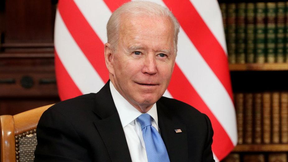 Joe Biden w Genewie