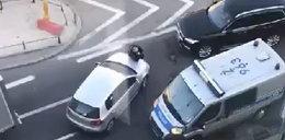 Tak szaleniec spod Pałacu Prezydenckiego rozjechał policjanta
