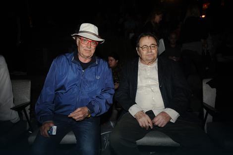 """Lordan Zafranović u društvu Srđana Karanovića na festivalu """"Krokodil"""""""