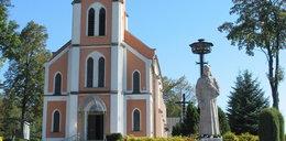 Chwile grozy na mszy. Bandyta ukrywał się w kościele