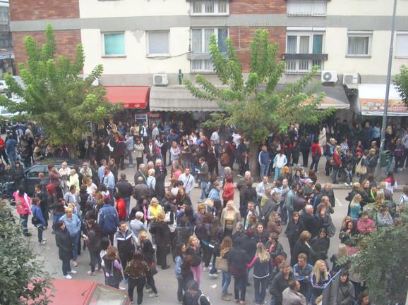 Zabrinuti za sudbinu fabrike: Protest radnika
