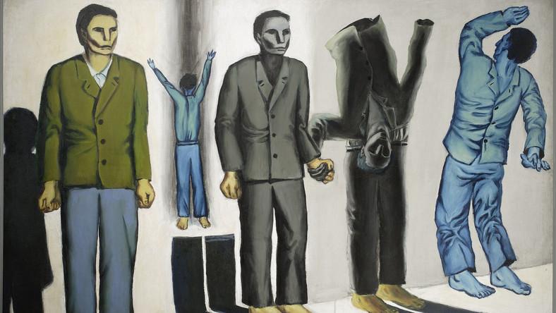 Andrzej Wróblewski, Rozstrzelanie surrealistyczne (Rozstrzelanie VIII), 1949