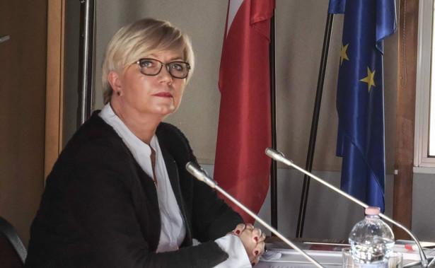 Ocena istnienia sporu kompetencyjnego pozostaje w wyłącznej gestii Trybunału Konstytucyjnego - napisała Julia Przyłębska