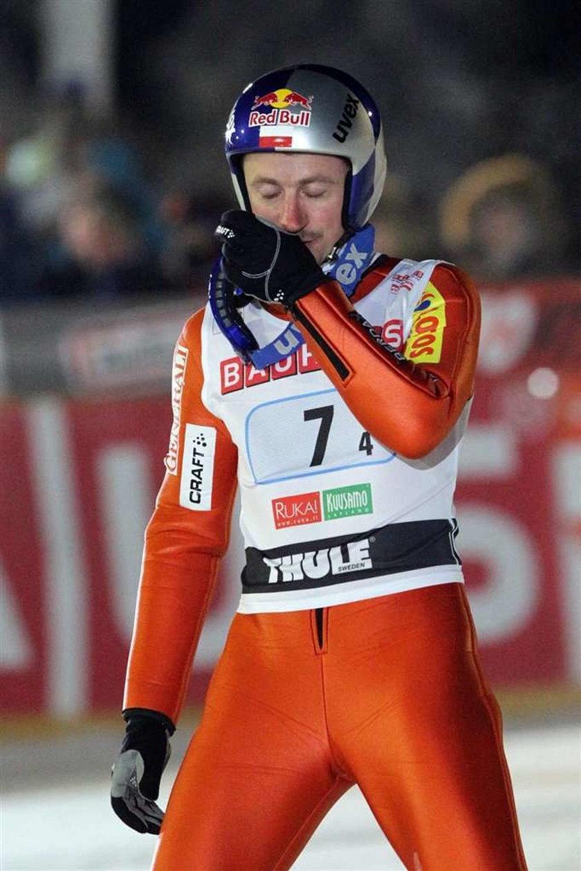 Adam Małysz zajął 9. miejsce w pierwszym konkursie skoków narciarskich w tegorocznym sezonie Pucharu Świata