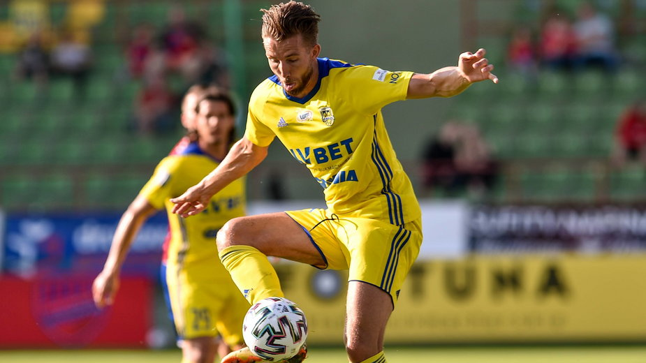 Fabian Serrarens i Oskar Zawada są napastnikami Arki, ale w tym sezonie nie strzelili żadnego gola