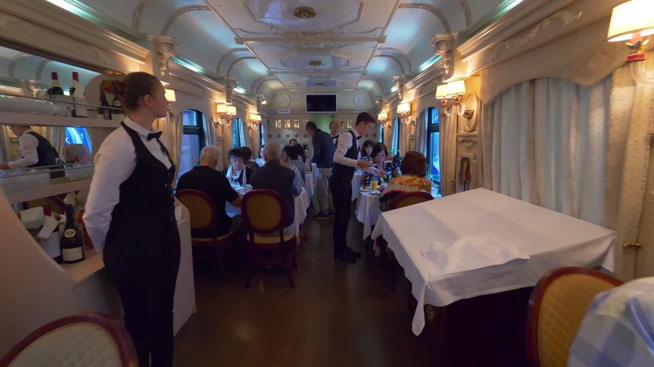 Luksusowa kolej transsyberyjska / fot. Youtube/Golden Eagle Luxury Trains