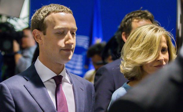 Mark Zuckerberg w Parlamencie Europejskim