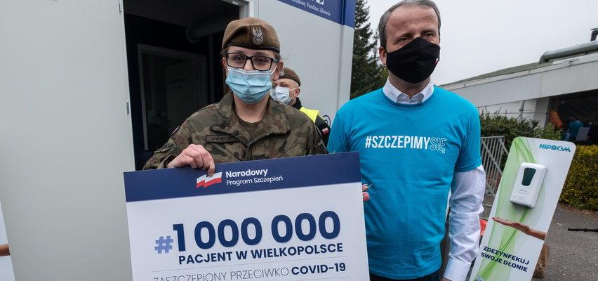 Mamy już ponad milion zaszczepionych!