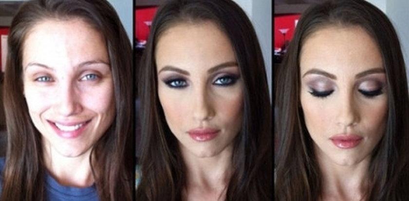 Gwiazdy porno bez makijażu! Tak wyglądają naprawdę