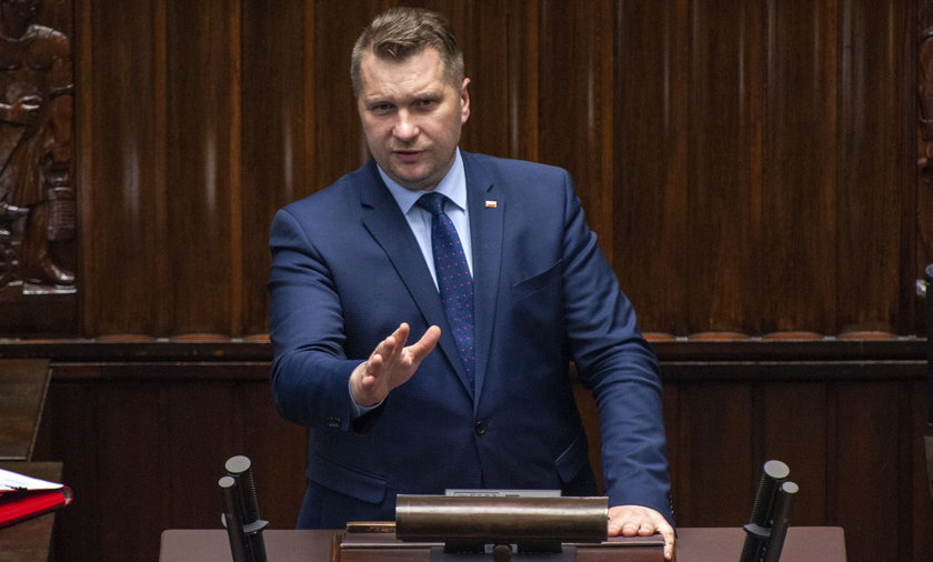Minister Edukacji i Nauki Przemysław Czarnek.