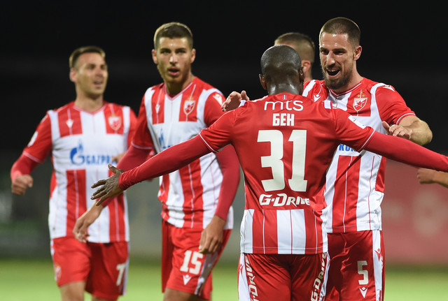 FK Crvena zvezda FK Rad