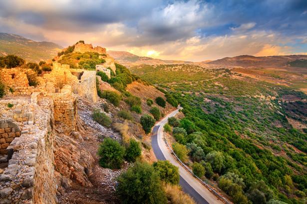 6. Izrael - współczynnik konkurencyjności - 3,24 Na zdjęciu Wzgórza Golan