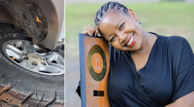 Lynn Ngugi survives nasty road accident