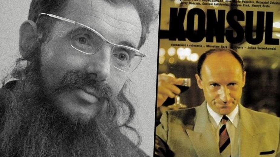 """Czesław Śliwa / Piotr Fronczewski jako filmowy """"Konsul"""""""
