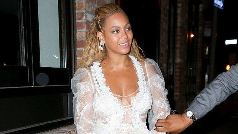 We reveal the wedding dress that Beyonce wore for her vow renewal to Jay-Z