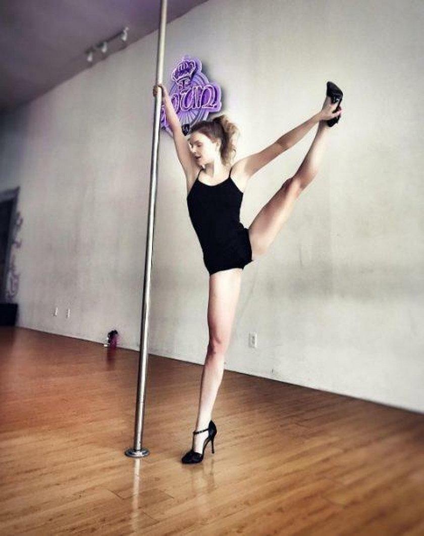 Iza Miko, taniec na rurce