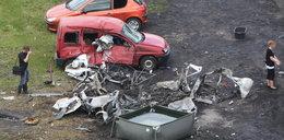 Śmierć na parkingu. Auto z gazem wyleciało w powietrze. NOWE FAKTY