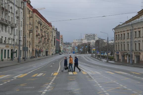 Moskva u vreme virusa korona